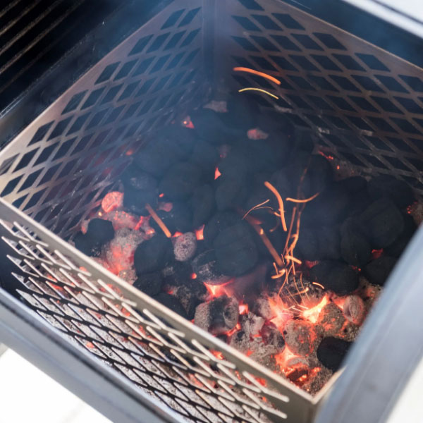 How to use a firebox basket