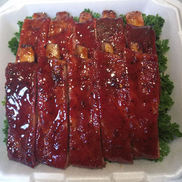 Competition-Style Pork Spare Ribs