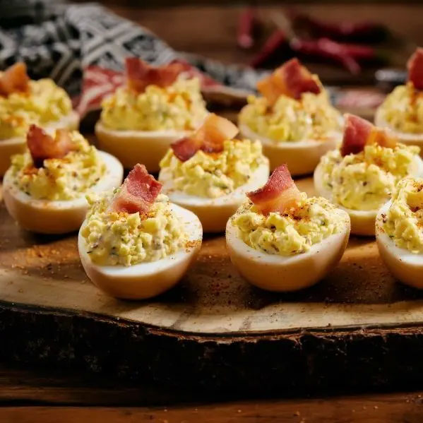 Smoked Devilled Eggs
